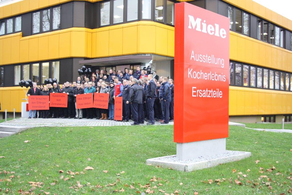 Protest Gegen Standortschlie Ung Miele Ig Metall Karlsruhe