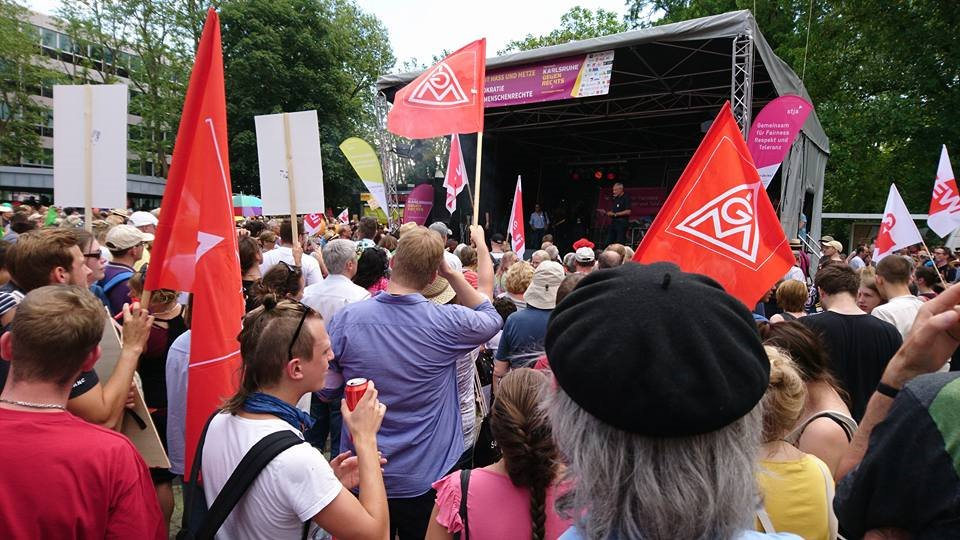 Nazi Demo Karlsruhe